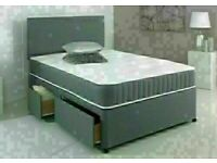 🔵💖🔴Make Home Stylish🔵💖🔴New Double or King Size Divan bed Base + Orthopedic Mattress/drawers