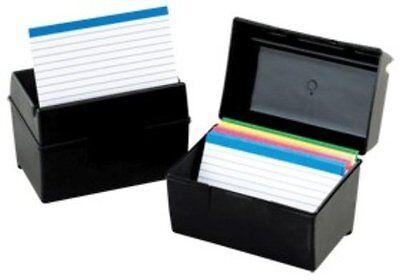 Index Card Storage (Oxford Index Card Storage Box - 300 X Card - 3