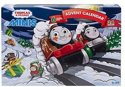 Fisher Price - Thomas & Friends - Minis Advent Calendar [New Toy] Cale