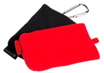 "TomTom Pouch 2 Pack - Carabineer Hook - Red/Black - 4.3"" Devices"