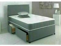 🔵💖🔴CONFIDANT DEAL ON DOOR🔵💖🔴FABRIC DIVAN SINGLE-DOUBLE+SMALL DOUBLE & KING SIZE BED BASE