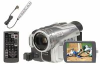 Panasonic PVGS200 3CCD MiniDV Camcorder w/10x Optical Zoom