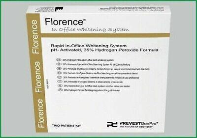 Prevest Florence Teeth Whitening Hydrogen Peroxide Formula 2 Patient Kit