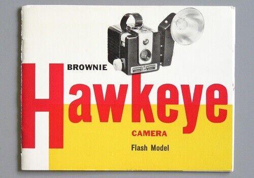 Kodak Brownie Hawkeye Flash Model Instruction Manual 1959