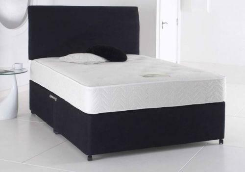 Double Divan Bed Memory Foam Ebay