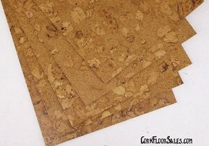 Beautiful cork tiles now available under $3.00/sf, Amazing!!