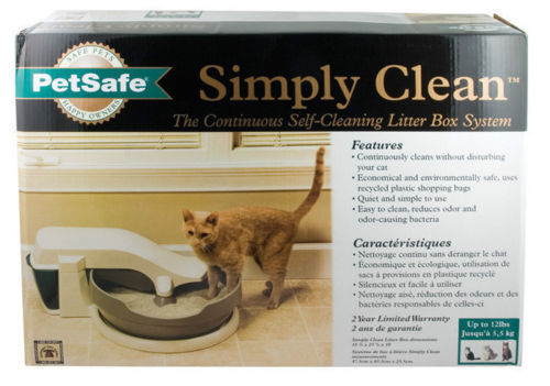 Petsafe Simply Clean Automatic Continuous Cat Litter Box ...
