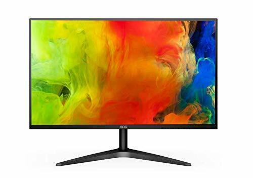 AOC 27B1H 68,6 cm (27 Zoll) Monitor (VGA, HDMI, 60 Hz, 1920x1080) schwarz