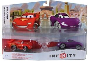 DISNEY INFINITY PLAY SET PACK CARS MCQUEEN & HOLLY SHIFTWELL BRA Kingston Kingston Area image 1