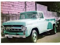 1950's Ford/Mercury American pickup/pick up truck - breaking for parts - 223 engine 3.7L