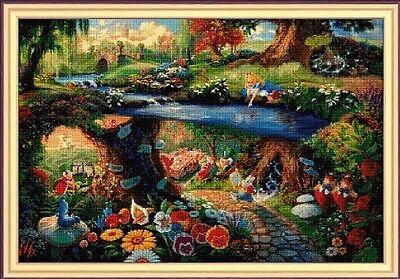 Disney Alice in Wonderland Cross Stitch Chart