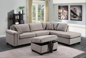 Brand new 2 pc sectional $1098 only FREE DELIVERY+SETUP