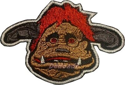 Labyrinth Embroidered Patch Ludo Big Beast Door Knocker Jareth King Goblin