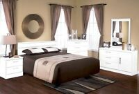 ★LORD SELKIRK FURNITURE★BELA BEDROOM SUITE IN WHITE★