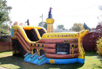 Inflatable Pirate Ship for rent
