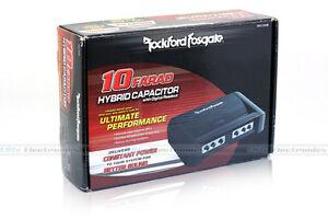 ROCKFORD-FOSGATE-RFC10HB-Hybrid-10-Farad-Digital-Stiffening-Capacitor-NEW