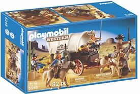 NEW PLAYMOBIL WESTERN STAGECOACH BOXED
