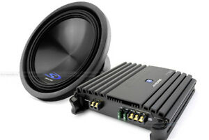 Alpine Type S Subwoofer and Mono Amplifier Package