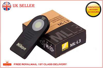 NIKON ML-L3 IR Wireless Remote Control MLL3 D5300 D5100 D5200 D3200 D60 D80 D90
