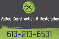 Valley Construction and Restoration