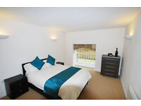 Spacious two bedroom apartment located in warehouse conversion in The Grainstore