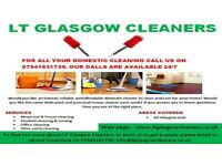 LT Glasgow Cleaners < 07541631739 call