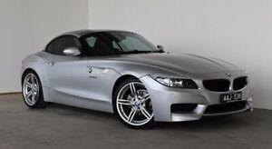 2011 BMW Z4 E89 MY0311 sDrive23i Steptronic Silver 6 Speed Sports Automatic Roadster