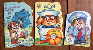 LITTLE CRITTER BOARD BOOKS 3 for $10