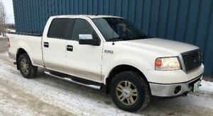 Saftied 2008 Ford F-150 SuperCrew Lariat Pickup Truck