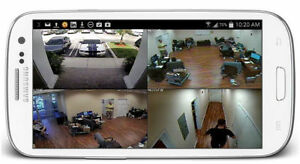 Monitor your business with security cameras - 20% OFF