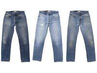 """LEVI'S MENS 505's Jeans size 36"""" waist 30"""" leg"""