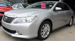 2013 Toyota Aurion GSV50R Prodigy Silver 6 Speed Sports Automatic Sedan Berwick Casey Area Preview