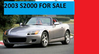2003 S2000 FOR SALE CLEAN 2ND OWNER ETEST AND CERTIFIED *FIRM*