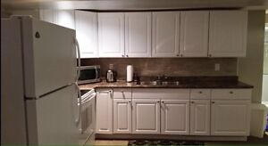 All inclusive 2 bedroom basement apt with separate entrance