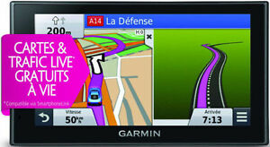 GPS Garmin Nuvi DriveSmart 50 LMT-HD ( 5po ),maps 2018