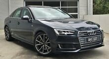 2016 Audi A4 B9 F4 MY16 Sport S tronic quattro Grey 7 Speed Sports Automatic Dual Clutch Sedan Berwick Casey Area Preview
