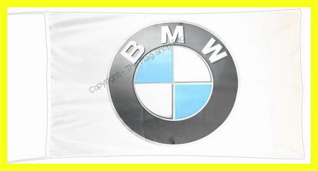 BMW FLAG BANNER  3D m3 m5 330 z4 z8 z3 x3 x5 5 X 2.45 FT 150 X 75 CM