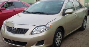 Amazing Corolla FULL OPTION 2009 Clean Summer and Winter tires