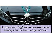 Chauffeur Driven Bridal or Best Man Wedding car, E Class AMG Mercedes