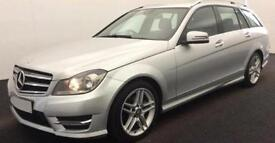MERCEDES-BENZ C220 C250 D AMG LINE SPORT PREMIUM PLUS ESTATE FROM £77 PER WEEK