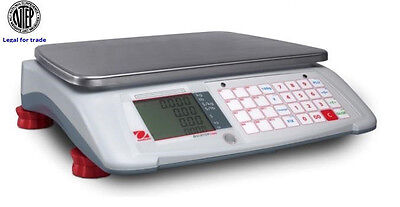 Ohaus Aviator 7000 Price Computing Scale Ntep Legal For Trade 60x0.02 Lbnew