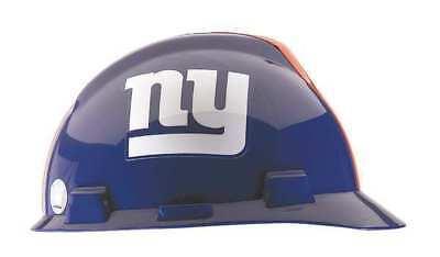 Msa 818403 Nfl V-gard Hard Hat New York Giants Bluewhite