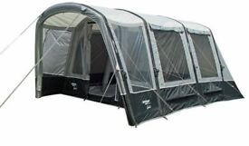 Vango Galli Airbeam driveaway awning used but in as new condition footprint inner tent and carpet