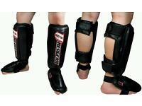 Revgear MMA/MUAY THAI SHIN GUARDS, USED TWICE, IN PERFECT CONDITION