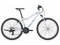 bike .Giant Liv . womans hybrid.