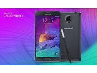 SAMSUNG NOTE 4 (WHITE OR BLACK) ,GRADE A ,LIKE AS NEW