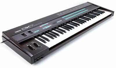 Yamaha DX7 DX5 TX7 TX802 TX816 DX200 Program Patch Sound Largest Library CDROM