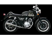 AJS CADWELL 125CC CAFÉ RACER, NEW, FINANCE AVAILABLE, ONE YEAR WARRANTY, LEARNER LEGAL