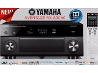 Yamaha Aventage RX A3040 Dolby Atmos Home Cinema Receiver Amplifier 4K Boxed with accessories