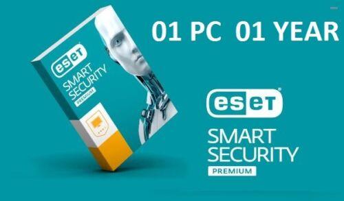 ESET SMART SECURITY PREMIUM 2020 1 Year 1 PC License Key Global key